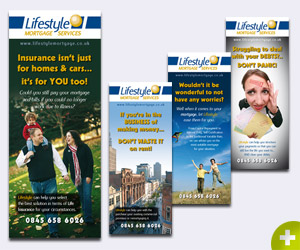 Lifestyle Mortgages Banner Stands