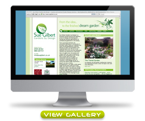 Click here to view screen grabs of the Sue Gilbert website